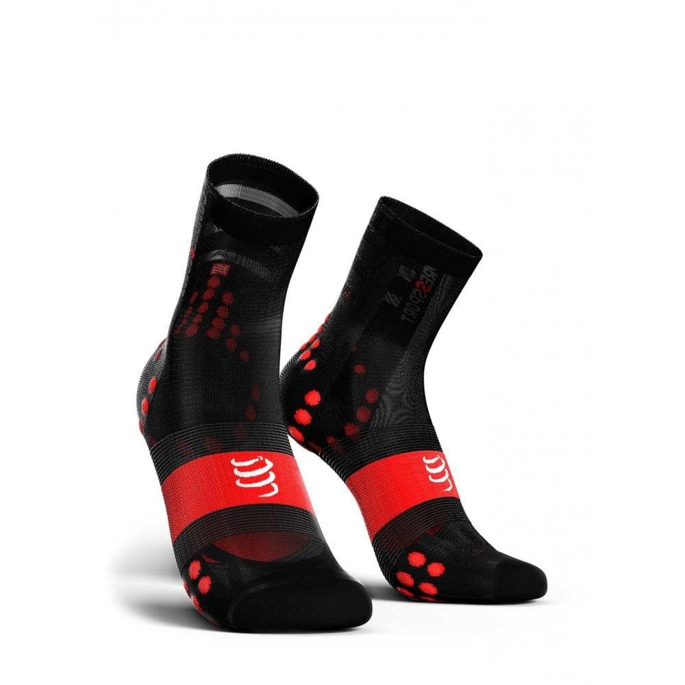 compressport socks  Compressport Pro Racing Socks V3 Ultralight Red Black